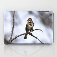 Song Sparrow iPad Case
