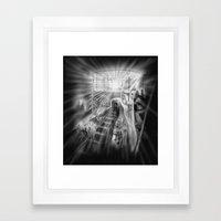 Last Train Framed Art Print