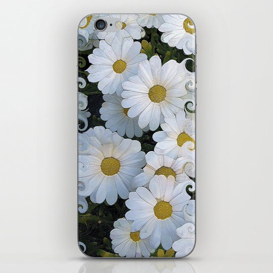 Dreaming Daisies iPhone & iPod Skin