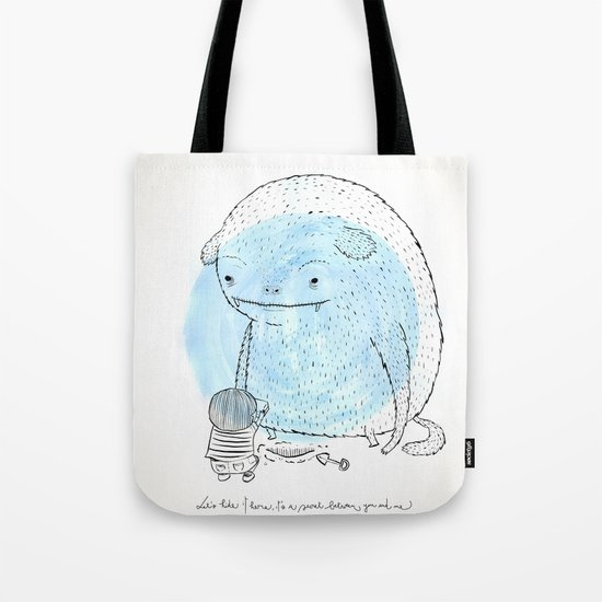 It's a secret. Tote Bag