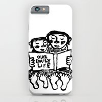 iPhone & iPod Case featuring our daily life by Hanae Miki