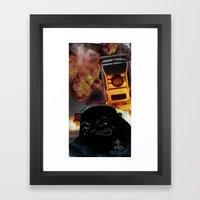United Coalition of Bad Men Framed Art Print