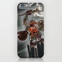 iPhone & iPod Case featuring Bolt Thundersmite- Version2 by David Finley