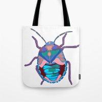 A Beautiful Beetle Tote Bag
