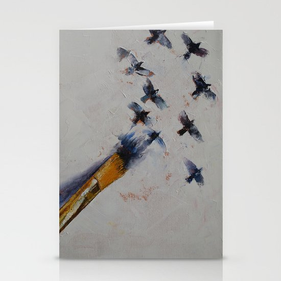 Birds Stationery Card