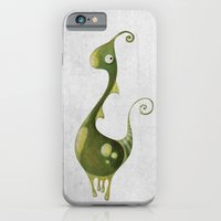 iPhone & iPod Case featuring Hello Earthling! 1 of 10 by Dnzsea