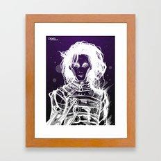 シザーハンズ Framed Art Print