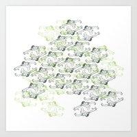 Illusionist Art Print
