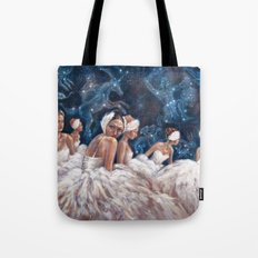 Ballerina Constellation Tote Bag