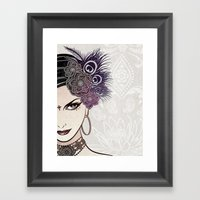 Belly Dance Framed Art Print