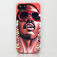 iPhone 5s & iPhone 5 Cases featuring Stevie Wonder by Laura-A