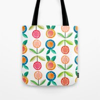 Water colour flowers Tote Bag