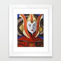 All Hail The Queen Framed Art Print