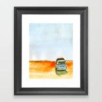 Homey  Framed Art Print
