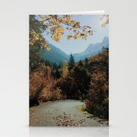 Washington Fall Rd Stationery Cards