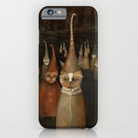 iPhone & iPod Case featuring The Pilgrimage by Fizzyjinks