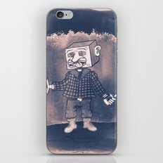 Mr Block Enjoys his Corporate Dividends iPhone & iPod Skin