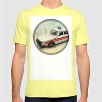 Childhood Dreams Mens Fitted Tee Lemon SMALL