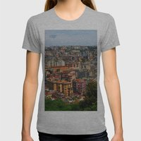 Skyline Womens Fitted Tee Athletic Grey SMALL