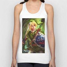Link - Legend of Zelda Unisex Tank Top