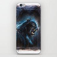 Black Panther iPhone & iPod Skin