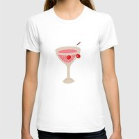Alcohol_03 Womens Fitted Tee White SMALL