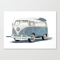 Volkswagen Transporter Canvas Print
