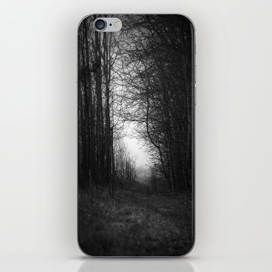 In the deep dark forest... iPhone & iPod Skin