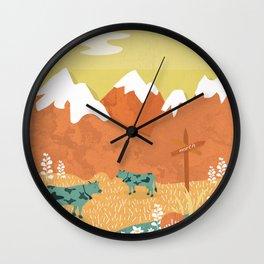 Wall Clock - Alpine - Kakel