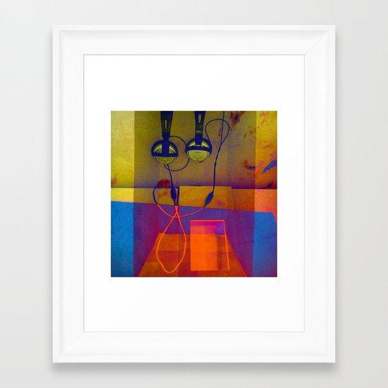 HEADTAB Framed Art Print