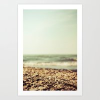 Free At The Sea Art Print