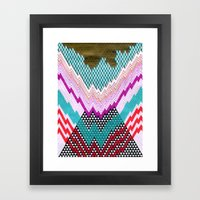 Isometric Harlequin #5 Framed Art Print