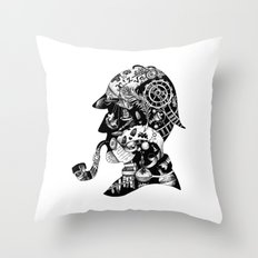 Mr. Holmes Throw Pillow