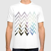 In Front Mens Fitted Tee White SMALL