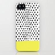 Polka Dot Rain Dip iPhone (5, 5s) Slim Case