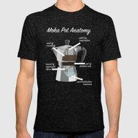 Anatomy of a Moka Pot Mens Fitted Tee Tri-Black SMALL