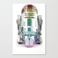 UNREAL PARTY 2012 R2D2 R… Canvas Print