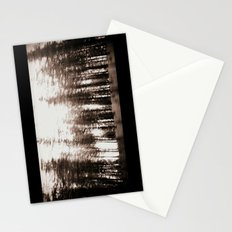 spinning forest Stationery Cards