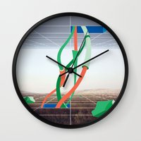 Holodeck Wall Clock