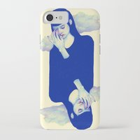 clouds iPhone & iPod Cases featuring Clouds by Natalie Foss
