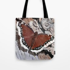 Cloak of Mourning Butterfly Tote Bag