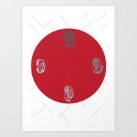 No.09 Art Print