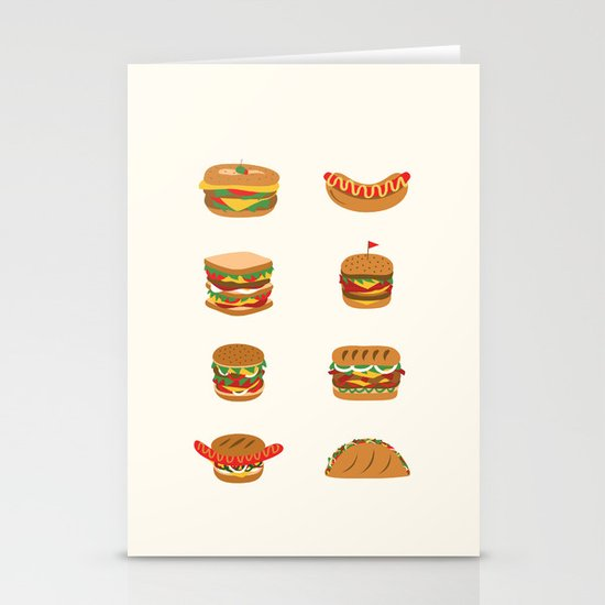 Stay hungry Stationery Card