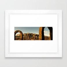 Roman Arch Framed Art Print