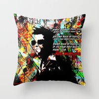 Rules And Guidelines Throw Pillow