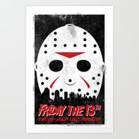 Friday The 13th Part VII… Art Print