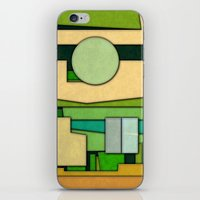 Abstract Cubist 3 iPhone & iPod Skin