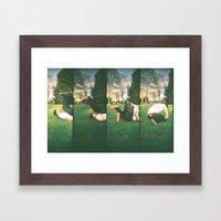 tumble Framed Art Print