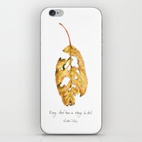 Every leaf has a story to tell iPhone & iPod Skin