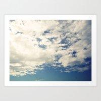 Endless Sky Art Print